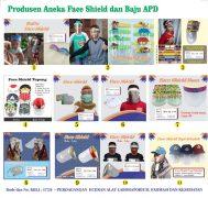 Aneka Masker dan Face Shield Kesehatan